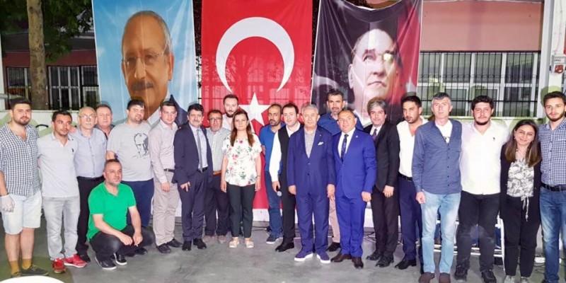 CHP İzmit'ten Dev İftar Organizasyonu