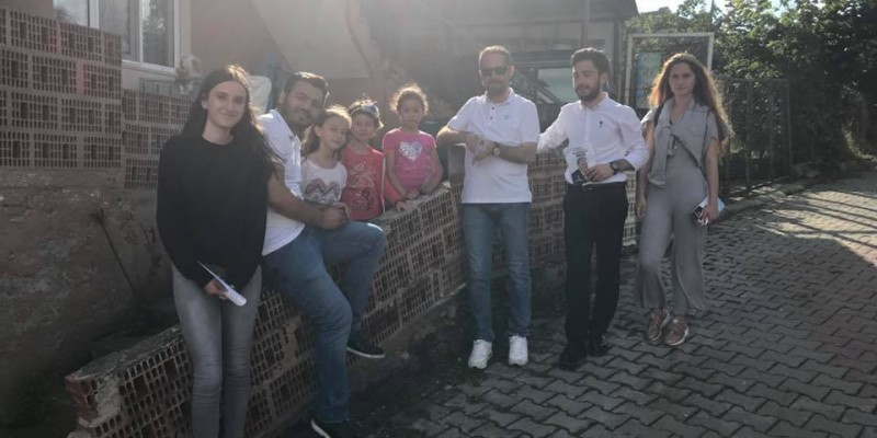 CHP'li Gençler Köylerden Çıkmadan Çalışıyor
