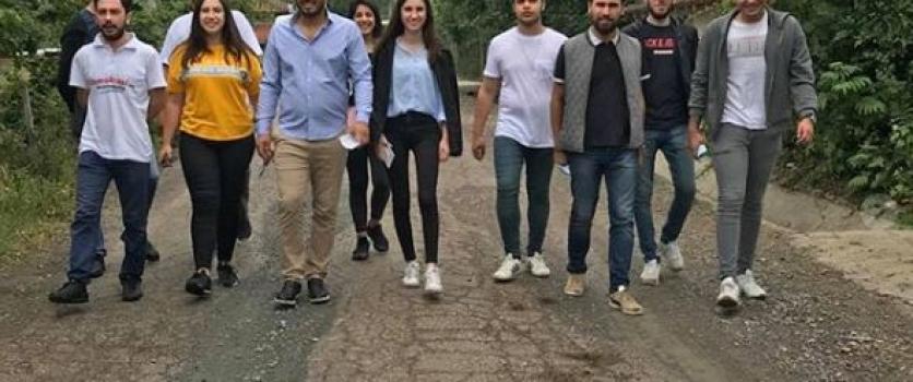 CHP'li gençler son sürat çalışıyor