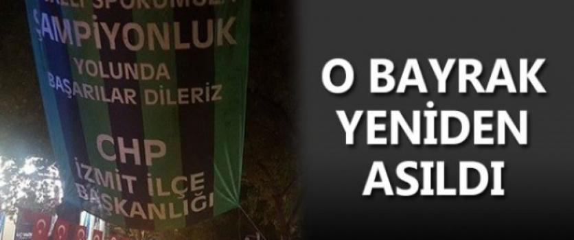 CHP İZMİT KOCAELİSPOR'A SAHİP ÇIKIYOR